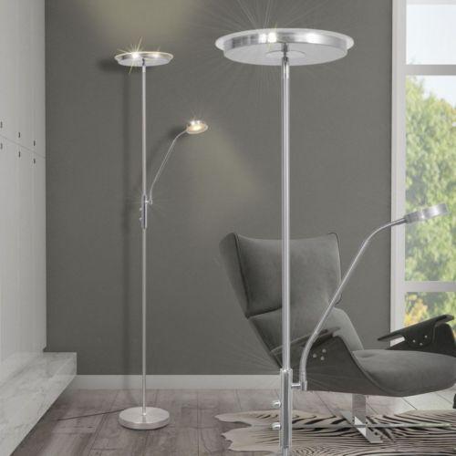 LED 23W Deckenfluter Stehlampe Stand Steh Lese Beleuchtung dimmbar 180cm #S; EEK A+sparen25.com , sparen25.de , sparen25.info