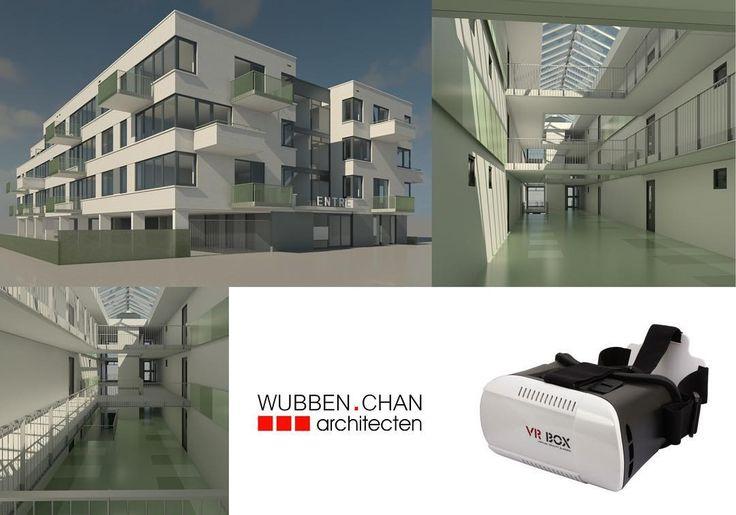 An awesome Virtual Reality pic! Ontwerp appartementencomplex Arcade Van der Horstweg te s-Gravenzande. Gemodelleerd in Revit nu in virtual reality. #Revit #BIM #virtualreality #3D #innovatie #marketing #3Dbril #vr by wubbenchan check us out: http://bit.ly/1KyLetq