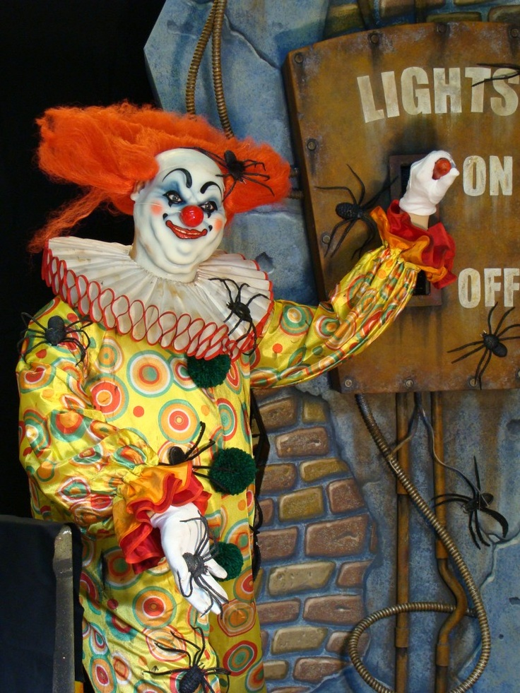 """Crazy Clown"" animatronic by Sally Corporation ..."