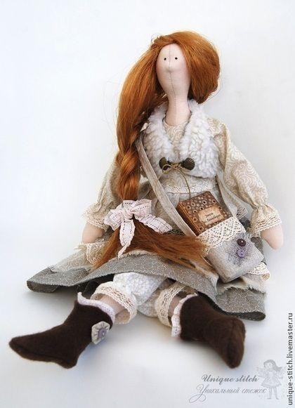 Куклы Тильды ручной работы. Ярмарка Мастеров - ручная работа. Купить Тильда Гвинет, дочь Ларсена. Текстильная кукла. Handmade.