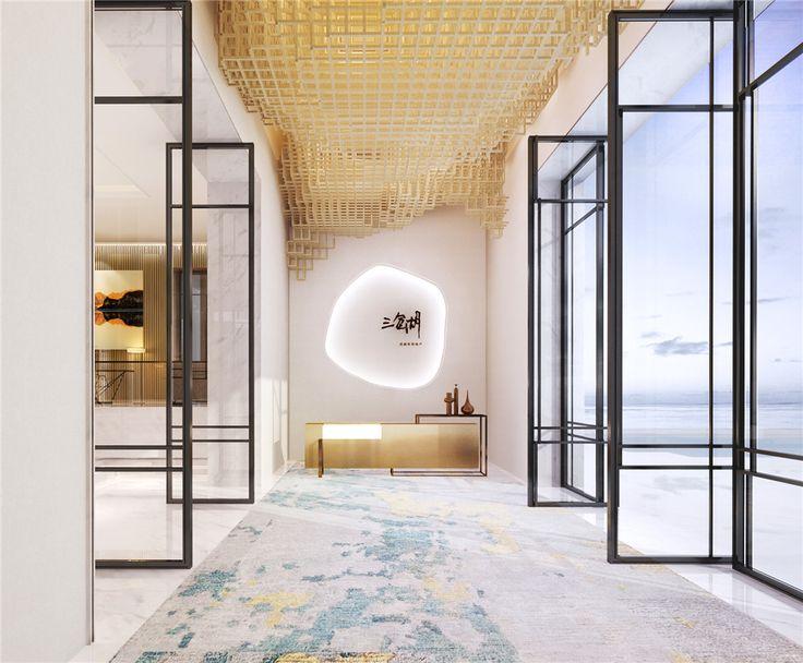 High-end interior design   sample room design   Luxury Design   sales offices Design   club design   Wu Bin - Hong Kong seamless design