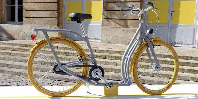 Le Pibal, vélo-patinette de Philippe Starck, débarque à Bordeaux