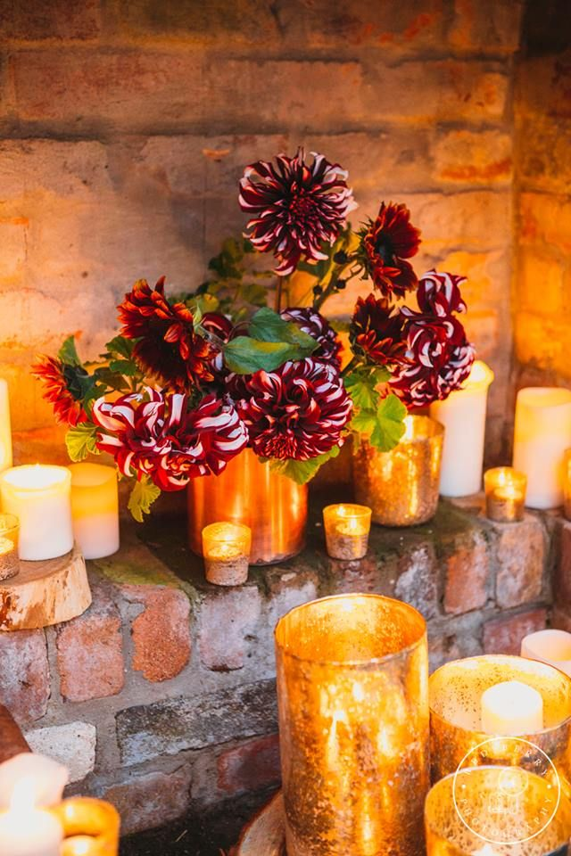 Dahlia arrangement by Shady Fig, styled by Hoorah Events and shot by Red Berry Photography at Willow Farm, Berry.