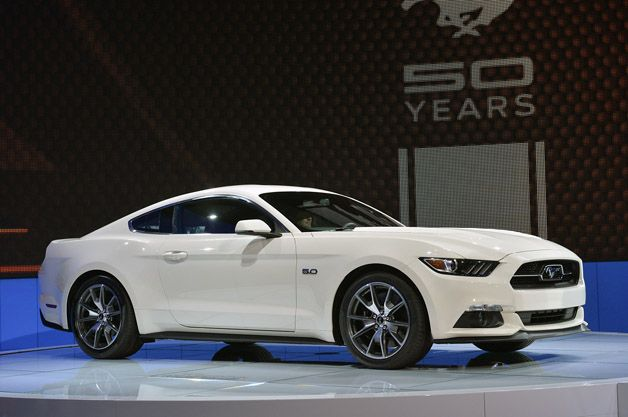 2015 Ford Mustang 50 Year Limited Edition pays homage to 1964