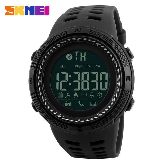 It is 50 meters waterproof and you can wear the watch when you are showering, swimming and diving. A must have. https://crazysportwatch.com/collections/watches-with-apps/products/skmei-bluetooth-smart-watch #smartwatch #bluetooth #skmei