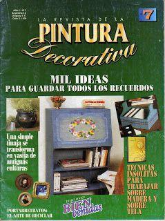Revistas de Manualidades Para Descargar: Pintura Decorativa Nº7