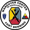 Fort Benning is a United States Army post located in Columbus in Muscogee and Chattahoochee counties in Georgia and Russell County, Alabama. It is part of the Columbus, Georgia, Metropolitan Statistical Area.