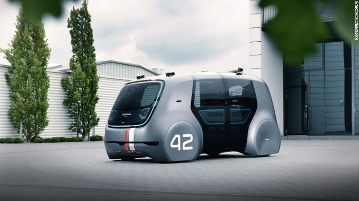 Volkswagen's electric concept bus is far out, man      Two of the world's largest automakers have struck deals with a high-profile Silicon Valley startup to develop autonomous vehicles.  The Volkswagen Group (VLKAY) and Hyundai (HYMTF) announced on Thursday partnerships with...