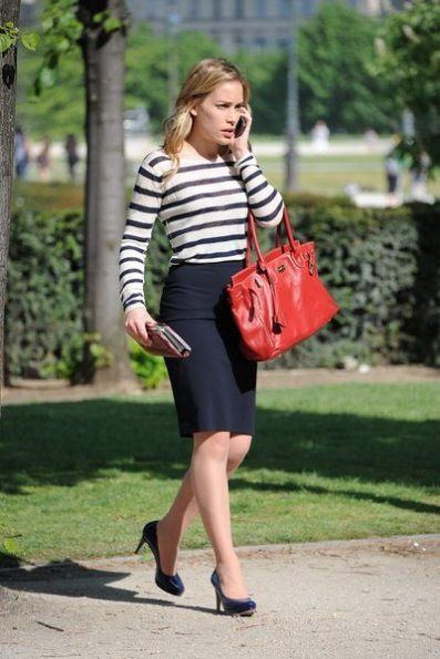 I literally want her wardrobe; she always looks amazing. Annie Walker on Covert Affairs.