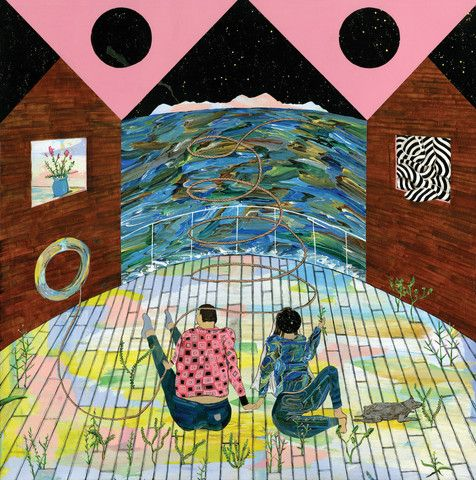 Time Don't Mean a Thing by Hiro Kurata. Prints available from $60. This romantic, whimsical piece would make a perfect wedding gift.