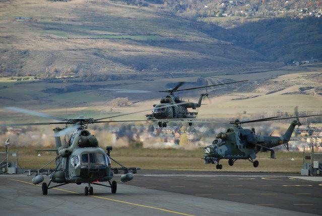 Mi-17 and Mi-24 Czech Army Air Force