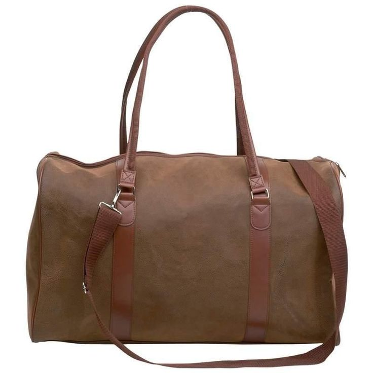 """$38.89 , $$ SALE $$ Embassy™ Travel Gear Faux Leather 21"""" Tote Bag Suitcase Business Clearance #clearance #sale #cool"""