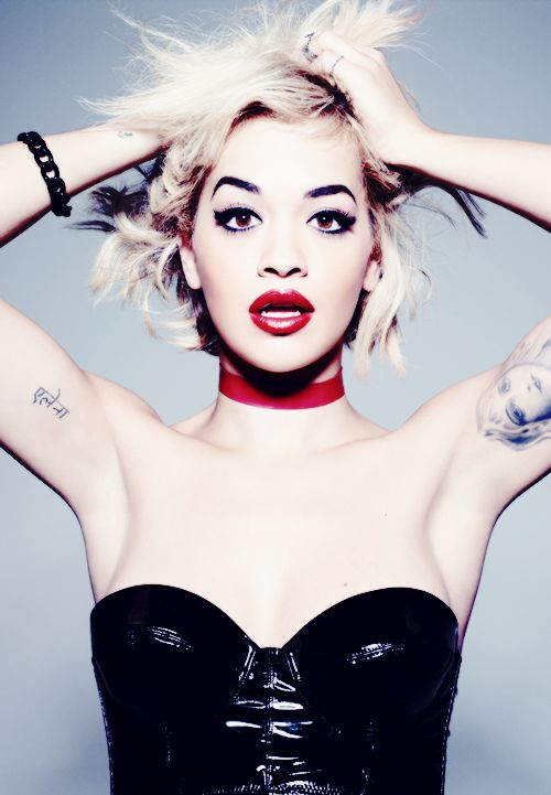 Rita Ora is the face of many labels. Rimmel is one of many labels that she  has an collaboration with to make her brand .