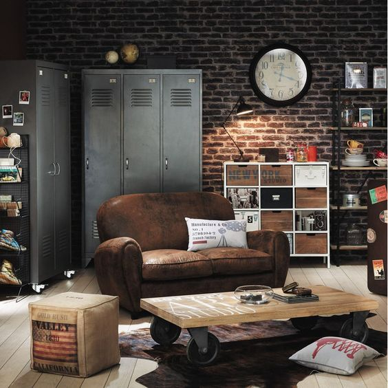Industrial Home Decor and Furniture