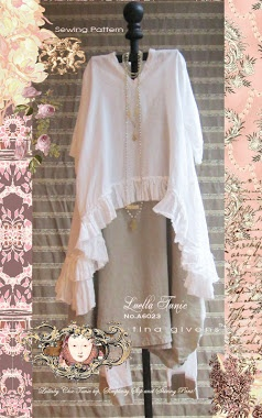 Luella tunic sewing pattern by TG coming soon!