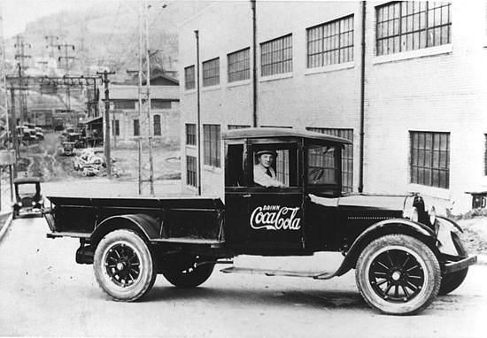 old coca cola trucks   Coca Cola of Bluefield, WV as it stands today