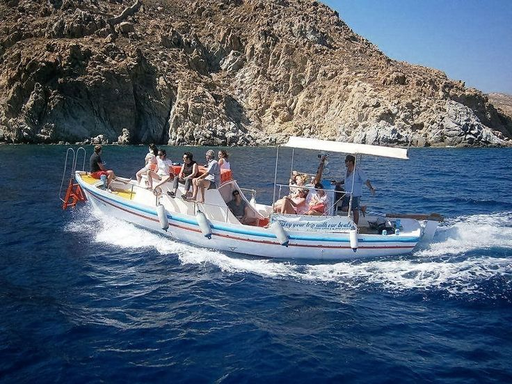 Boat Taxi from Platis Gialos every 20 minutes.Read more...