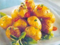 Cantinho Vegetariano: Batata Bolinha Salteada com Ervas Aromáticas (vegana)