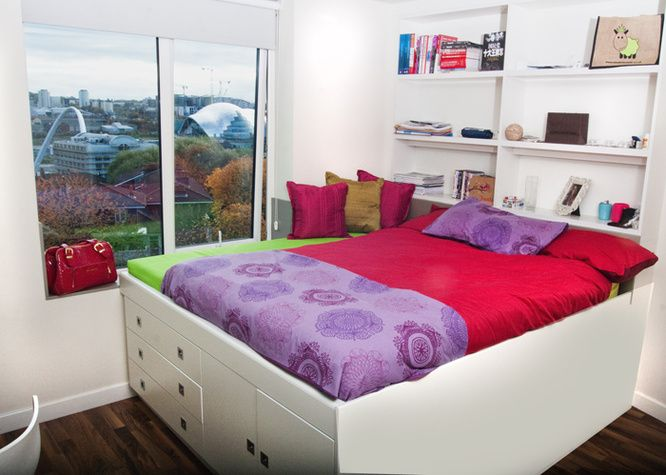 18 best student accommodation newcastle images on for Student bedroom designs