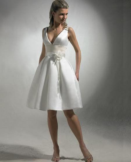 #Vestido de Novia Corto. 195€!!!
