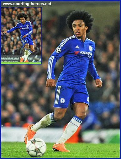 Willian - Chelsea FC - 2015/16 Champions League.