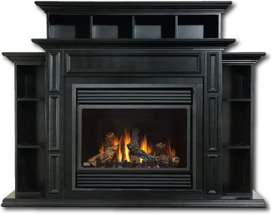 Ventless Gas Fireplace, GVF36, GVF42 Gas Fireplace Inserts, Ventless Gas Fireplace Insert, Napoleon Fireplace Vent Free