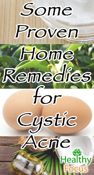 Home Remedies for Cystic Acne include baking soda, apple cider vinegar, tea tree oil, coconut oil, manuka honey, aloe vera, and lemon juice. Find out more.