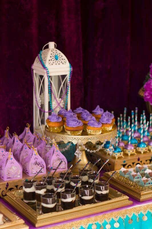 Decoracion princesa jazmin