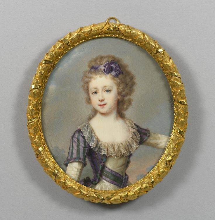Russian School, 18th century - Princess Mary of Russia, Grand Duchess of Saxe-Weimar-Eisenbach (1786-1859)