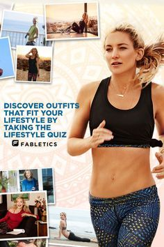 Fabletics by Kate Hudson. A curated collection of Activewear that is a buy now and wear forever. Discover outfits that fit your lifestyle by taking our Lifestyle quiz!