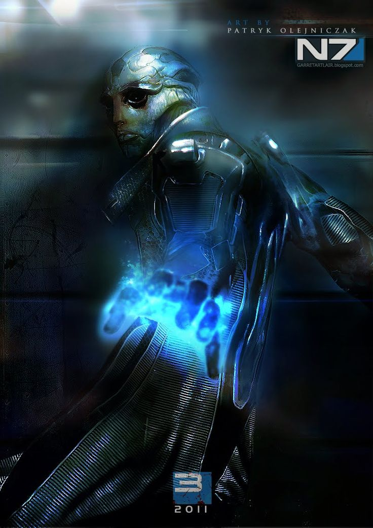 "Don't Think Of This As Mass Effect 3 ""Fan Art"""