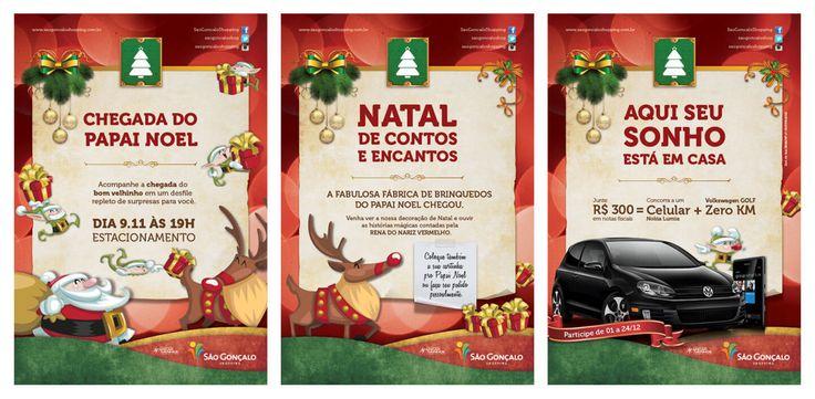 São Gonçalo Shopping Seasonal Campaign