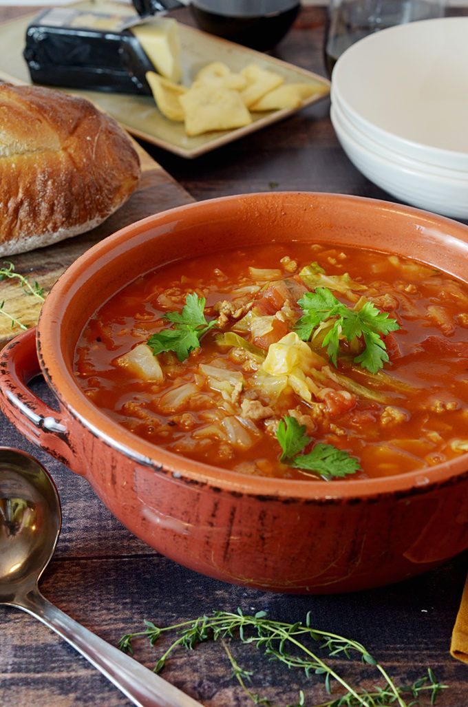 Golumpk Stuffed Cabbage Soup Recipe from Platter Talk