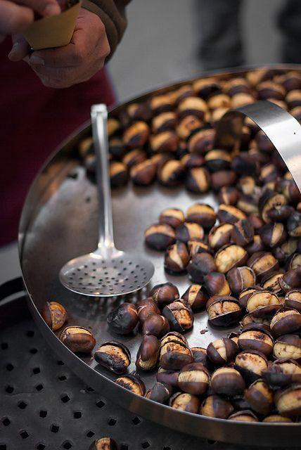 Yammie...roasted chestnuts. | www.kiem-wayoflife.com