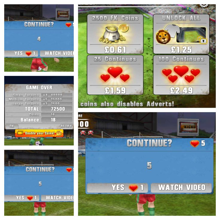 #Football Kicks on #GooglePlay has EXCLUSIVE added extras like FREE COINS, MASCOTS and you can even extend your gameplay with CONTINUES!  http://bit.ly/footballkicksgoogle