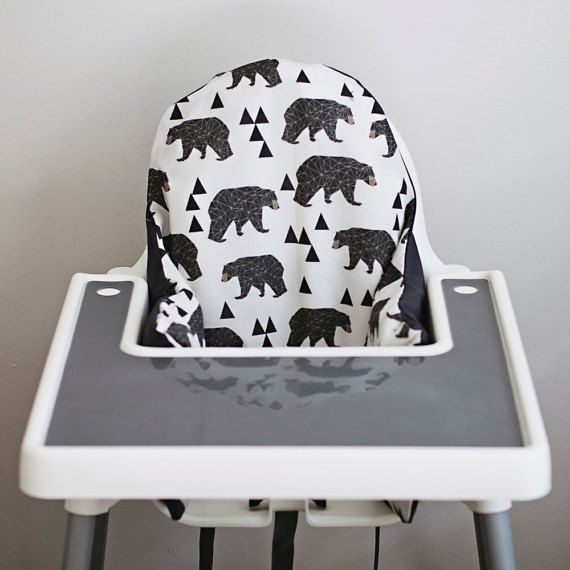 IKEA Antilop Highchair Cover // by YeahBabyGoods on Etsy