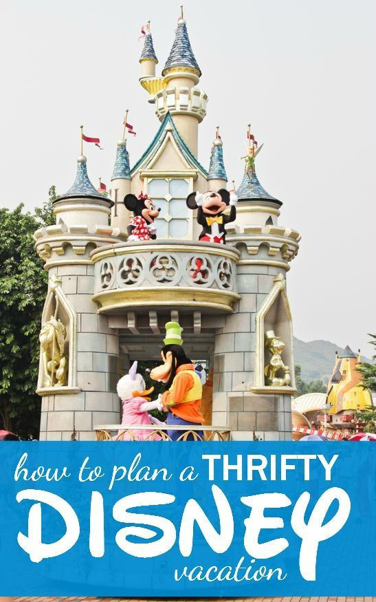 How to plan a Disney Vacation on a Budget! Great travel tips for saving money!