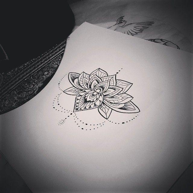 mandala lotus | Tumblr