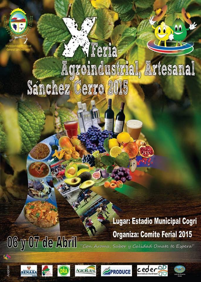 X Feria Agroindustrial, Artesanal Sánchez Cerro 2015