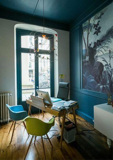 Rénovation d'une Agence de Relation Presse, Architecte d'intérieur Paris, Réalisation Agence Véronique Cotrel