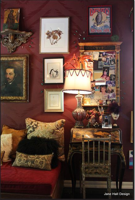 Eclectic Boho Living Room Apartment Therapy