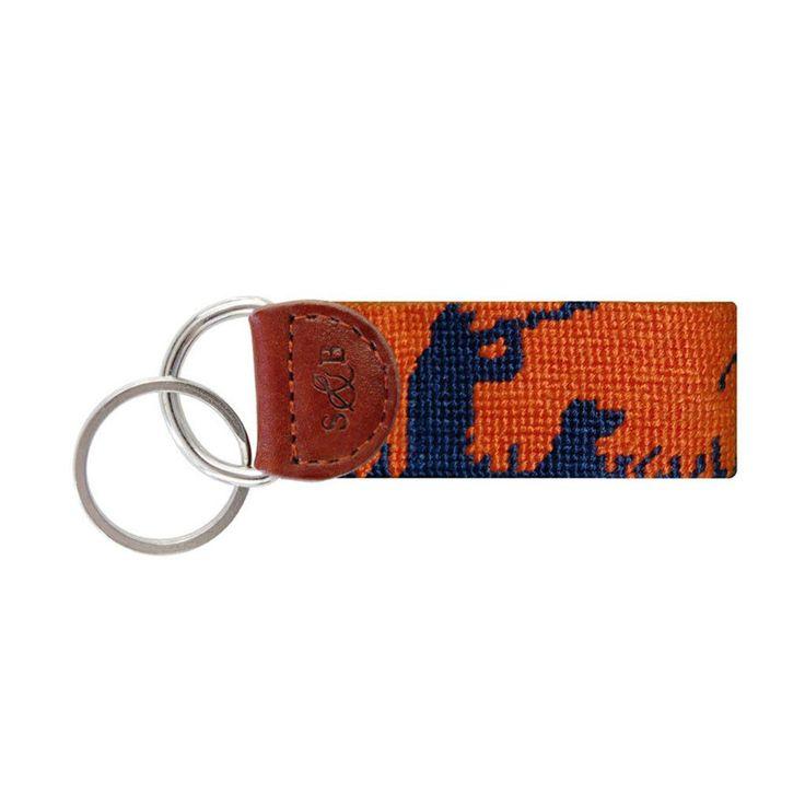 Bird Hunter Key Fob in Orange by Smathers & Branson