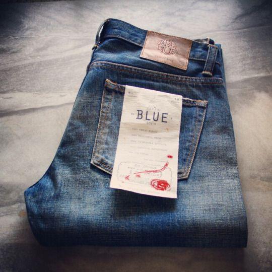 Japan Blue 12.5 oz Tapered  #jeans #denim #fashion #menswear #blue #japanblue #mode