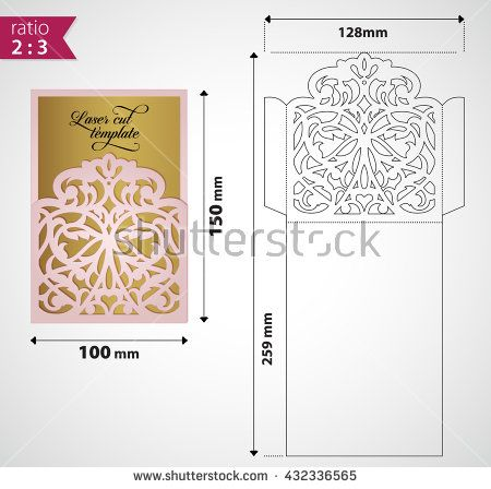 Best Envelope Templates Images On   Envelope