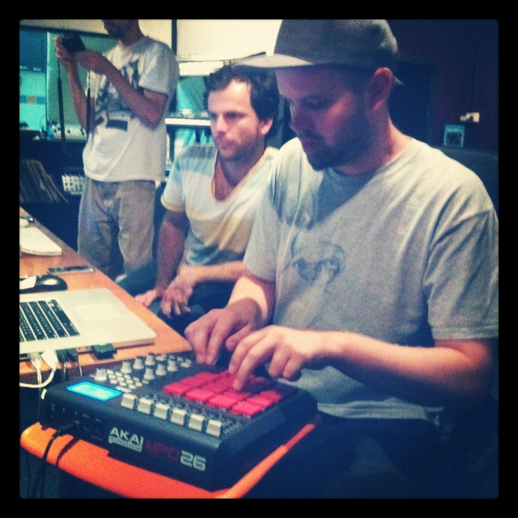 Recording of new album at Bounce County, Melbourne