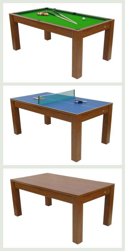 Billiardbord, bordtennis bord og spisebord i ét. Se flere produkter på bloggen frubruun.dk #furniture #multifunctional #furnituredesign