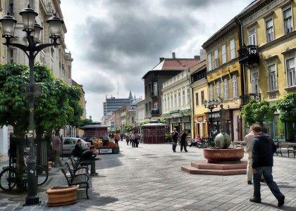 Győr, belváros, Downtown – Győr,  Győr-Moson-Sopron County , Hungary