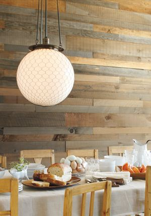 The Hood. Industrial style fixture with wire net. Choose from 12 finishes and a selection of shades.