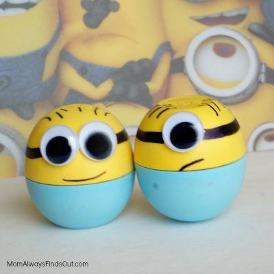 Minion Craft: Make-a-Minion Lip Balm