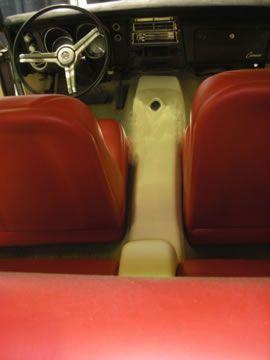 RodDoors Custom Car Interior Center Console